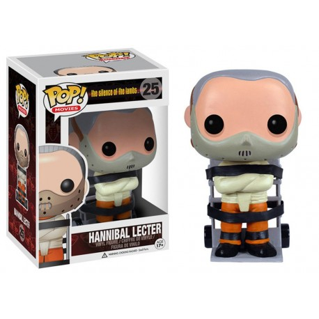 FUNKO POP MOVIES THE SILENCE OF THE LAMBS HANNIBAL LECTER (25)