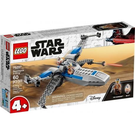 LEGO +4 STAR WARS 75297 Ala-X de la Resistencia