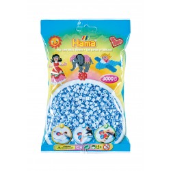 HAMA MIDI 201-97 Azul Hielo Pastel (Pastel Ice Blue)