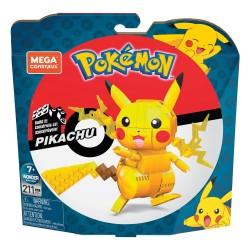 Pokémon Kit de Construcción Mega Construx Wonder Builders Pikachu 10 cm