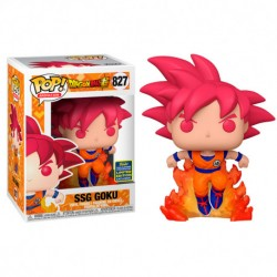 FUNKO POP DRAGON BALL Z SUPER SAIYAN GOD GOKU (827) LIMITED EDITION