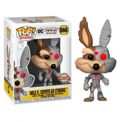 FUNKO POP ANIMATION LOONEY WILE E.COYOTE AS CYBORG (866)(EXC)