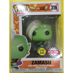 FUNKO POP DRAGON BALL SUPER ZAMASU GITD EXC (316)