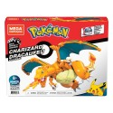 Pokémon Kit de Construcción Mega Construx Wonder Builders Charizard 10 cm