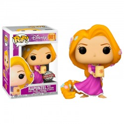 FUNKO POP DISNEY RAPUNZEL WITH LANTERN (981) (EXC)