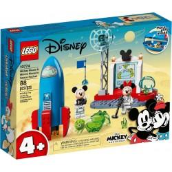 LEGO DISNEY 10774 Cohete Espacial de Mickey Mouse y Minnie Mouse