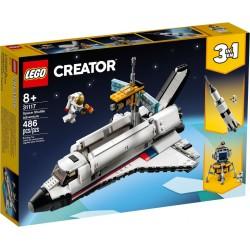 LEGO CREATOR 31117 Aventura en Lanzadera Espacial