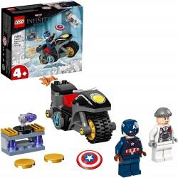 LEGO MARVEL 76189 Capitán América contra Hydra