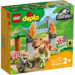 LEGO DUPLO 10939 Fuga del T. rex y el Triceratops