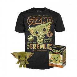 Gremlins POP! & Tee Set de Minifigura y Camiseta Gizmo Exclusive talla S