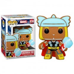 FUNKO POP MARVEL HOLIDAY GINGERBREAD THOR (938)