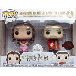 FUNKO POP HARRY POTTER HERMIONE GRANGER & VIKTOR KRUM (2 PACK) EXC