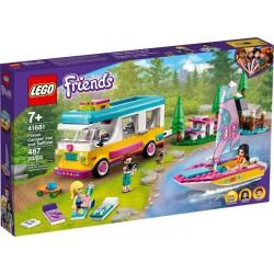 LEGO FRIENDS 41681 Bosque: Autocaravana y Barco de Vela