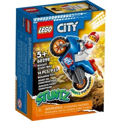 LEGO CITY 60298 Moto Acrobática: Cohete