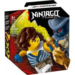 LEGO NINJAGO 71732 Set de Batalla Legendaria: Jay vs. Serpentine