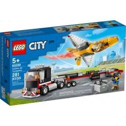 LEGO CITY 60289 Camión de Transporte del Reactor Acrobático
