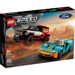 LEGO SPEED CHAMPIONS 76905 Ford GT Heritage Edition y Bronco R