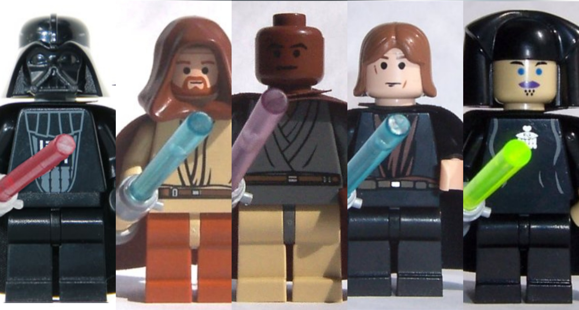 LEGO Star Wars minifiguras Light-up